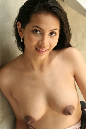 asian lady large nipples