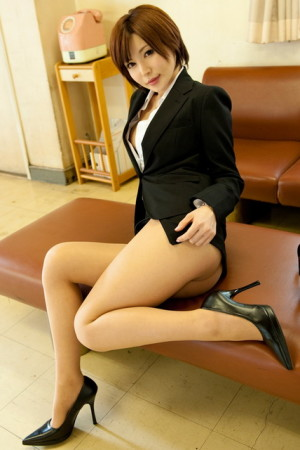 hot japanese business lady