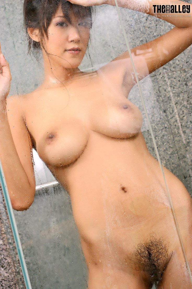 asian nude shower - Gang bang asia big tits Dildo 1.5 inches wide
